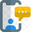 Mobile Communication Mobile Chatting Conversation Icon