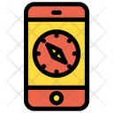 Mobile Compass Icon