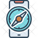 Mobile Compass Compass Navigation Icon
