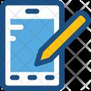 Mobile Composing Icon