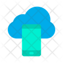Mobile Cloud Computing Icon