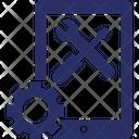 Mobile Configuration Online Maintenance Phone Repair Icon