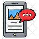 Mobile Content Mobile App Mobile Media Icon