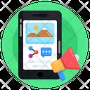 Digital Marketing Online Marketing Mobile Marketing Icon