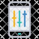Mobile Control Adjustment Icon