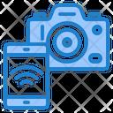 Mobile Control Camera Icon