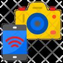 Mobile Control Camera Smart Camera Smartphone Icon