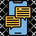 Mobile Conversation Icon