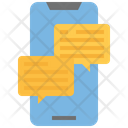 Mobile Conversation Mobile Chat Mobile Message Icon