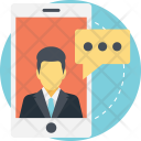 Mobile Conversation Chat Icon