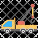 Mobile Crane Truck Icon