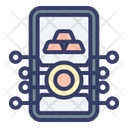Mobile Crypto Crypto Currency Icon
