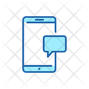 Mobile customer support Icon