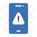 Mobile Virus Danger Icon