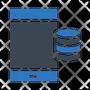 Mobile Server Database Icon
