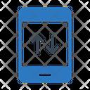 Mobile Phone Data Icon