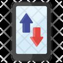 Mobile Data Data Transfer Mobile Transfer Icon