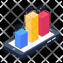 Mobile Data Data Analytics Infographic Icon