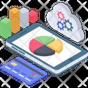 Mobile Data Analytics Icon
