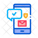 Mobile Data Protection Icon