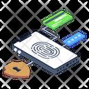 Mobile Data Protection Icon