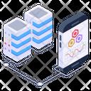 Mobile Storage Mobile Data Servers Mobile Display Icon