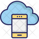 Mobile Cloud Wireless Network Cloud Network Icon