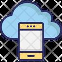 Mobile data synchronization Icon