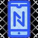 Mobile Data Transfer Icon