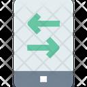 M Data Transfer Mobile Data Transfer Data Transfer Icon