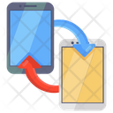 Data Transfer Data Transmission Mobile Data Transfer Icon