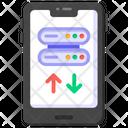 Phone Dataserver Mobile Data Transfer Mobile Server Icon