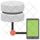 Mobile Database Shared Icon