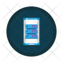 Mobile Database Database Smartphone Icon