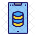 Database Smartphone Icon