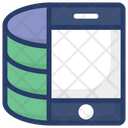 Mobile Application Mobile Database Mobile Storage Icon