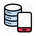 Database Mobile Storage Icon