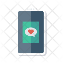 Mobile dating application Icon