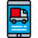 Mobile Delivery Iphone Logistics Icon