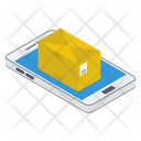 Mobile Parcel Mobile Package Mobile Delivery Icon