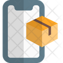 Mobile Delivery Online Tracking Online Delivery Icon