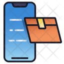 Mobile Delivery Business Delivery Icon