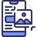 Mobile Picture Crop Icon