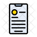 Mobile Design Design Profile Icon