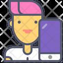 Developer Mobile Developer Mobile Icon