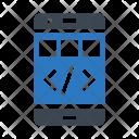 Mobile Coding Phone Icon