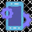 Mobile Development Development Gear Icon