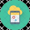 Mobile Development Icloud Icon