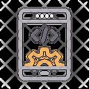 Develoment Mobile Coding Icon