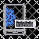 Mobile Development Phone Icon